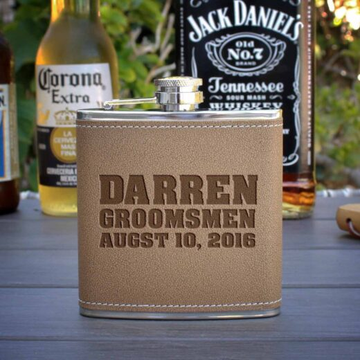 Personalized Flask   Darren