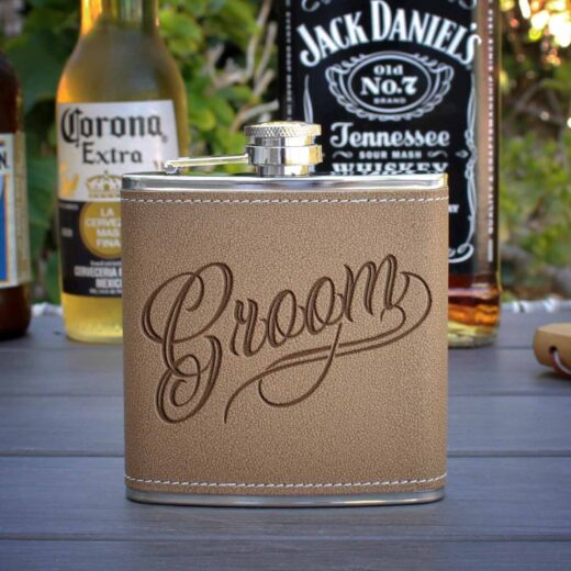 Personalized Flask | Groom