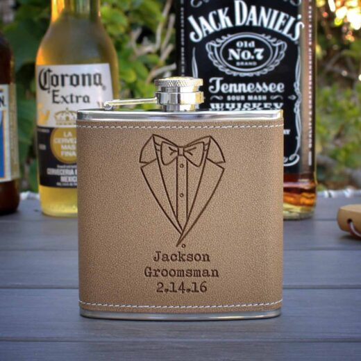 Personalized Flask | Jackson