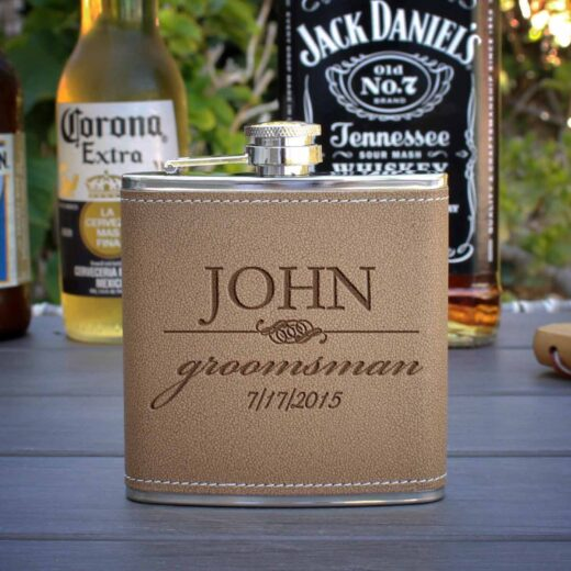 Personalized Flask | John