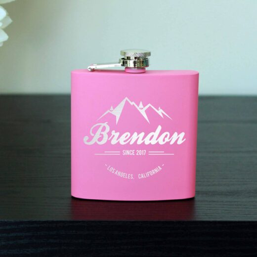 Personalized Flask   Brendon