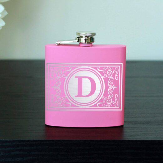 Personalized Flask | Damask
