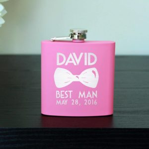 Personalized Flask | David
