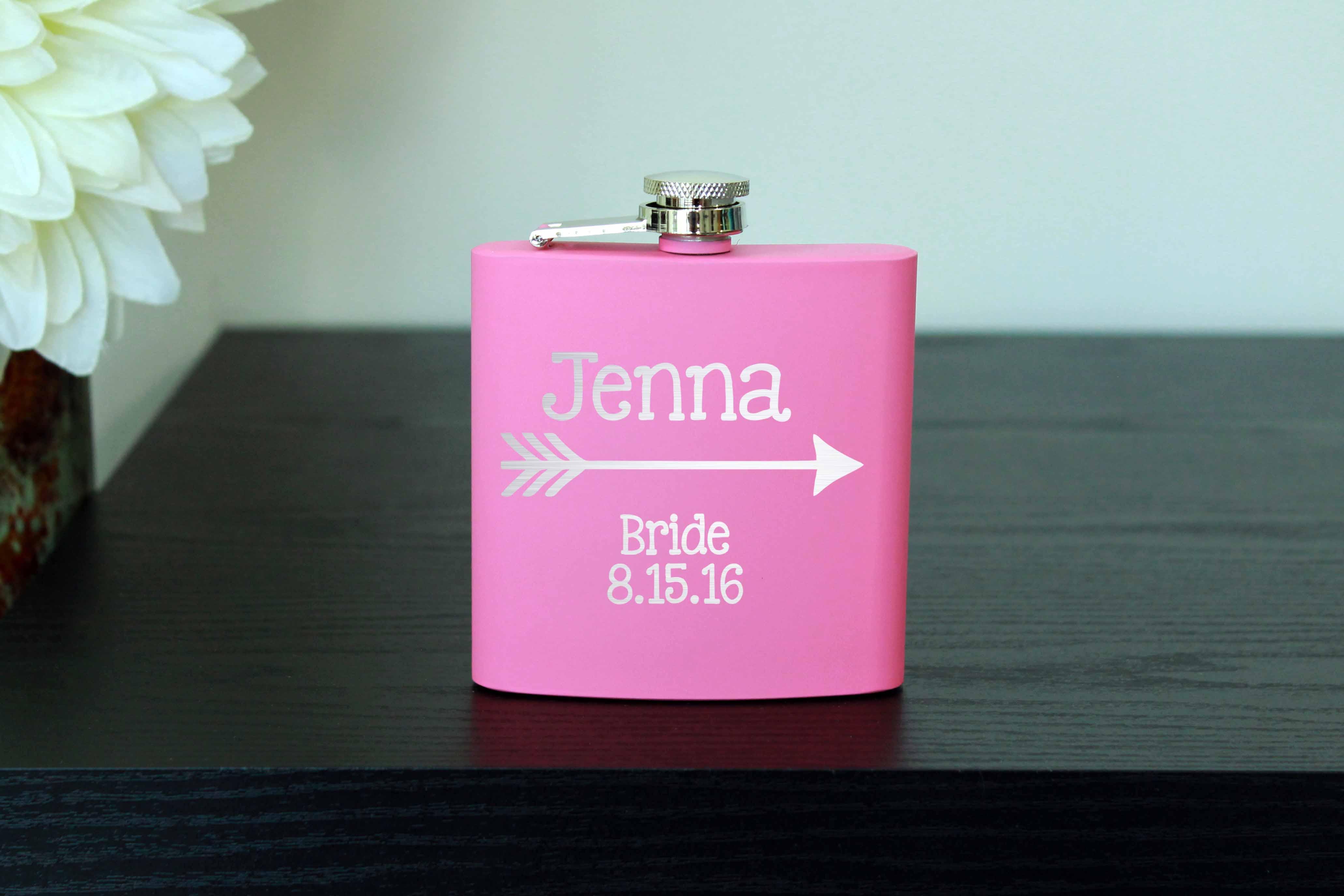 Personalized Flask Jenna