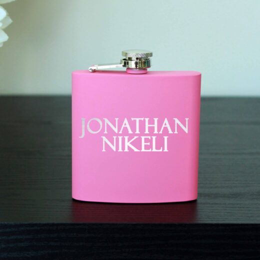 Personalized Flask | Jonathan
