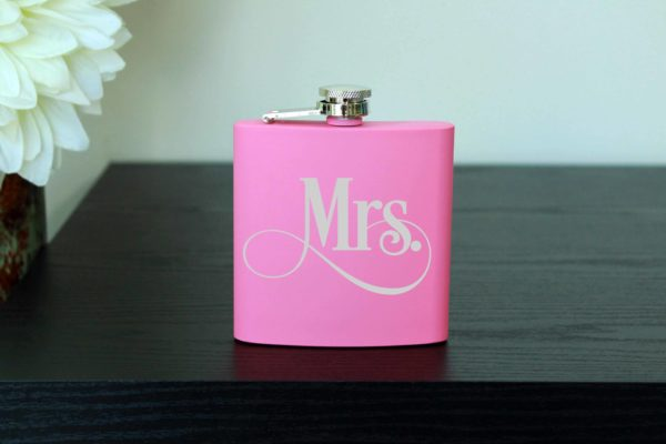 Personalized Flask | Mrs