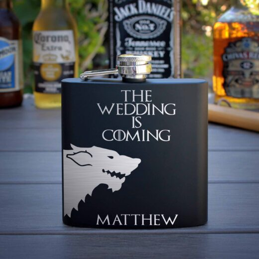 Personalized Flask | GOT