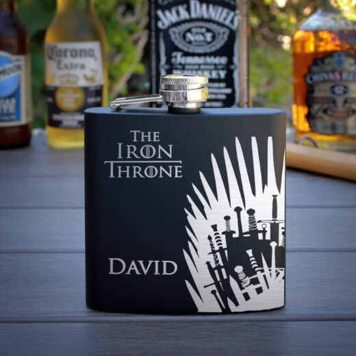 Personalized Flask | Iron Throne