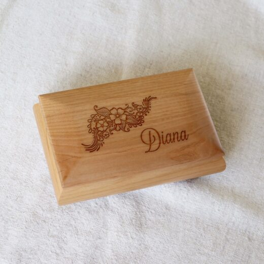 Personalized Jewelry Box | Diana