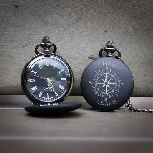 Customized Engraved Pocket Watch | Chris Adams