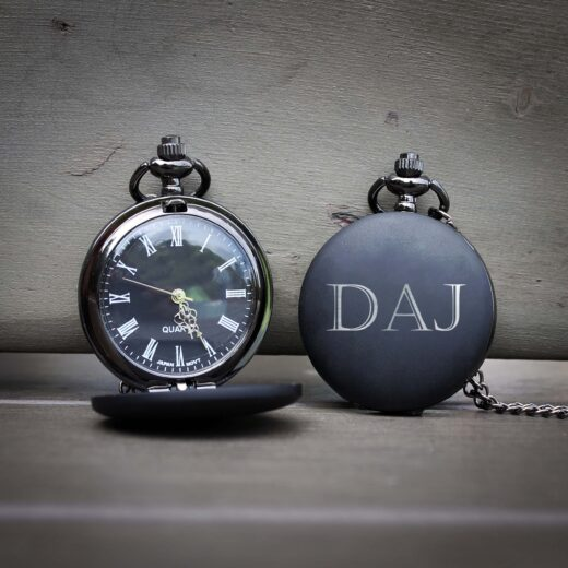 Customized Engraved Pocket Watch | DAJ