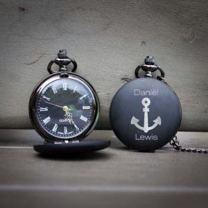 Customized Engraved Pocket Watch | Daniel Lewis