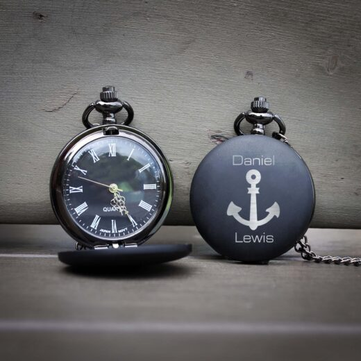 Customized Engraved Pocket Watch | Daniel Lewis