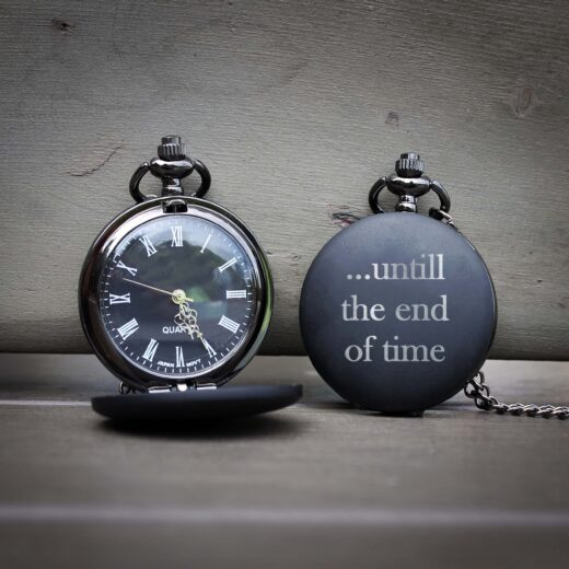 Customized Engraved Pocket Watch | End Of Time