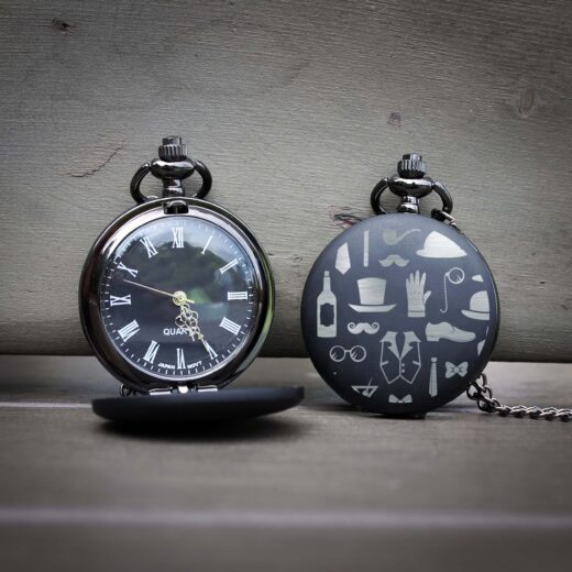 Customized Engraved Pocket Watch | Gentleman
