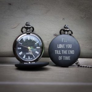 Customized Engraved Pocket Watch | I'll Love You