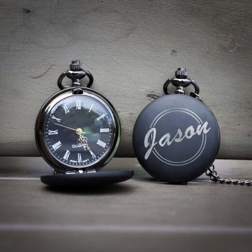 Customized Engraved Pocket Watch | Jason