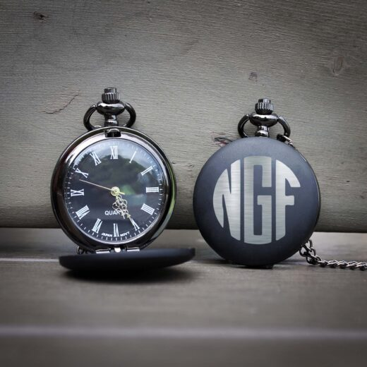 Customized Engraved Pocket Watch | NGF