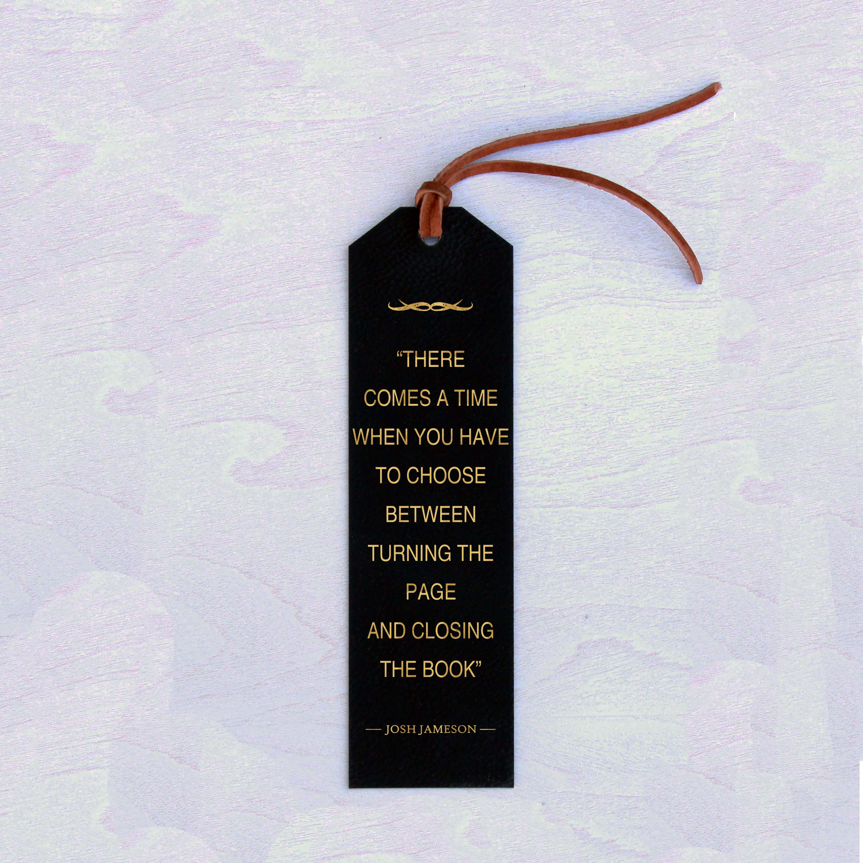 Personalized Bookmark | Josh Jameson