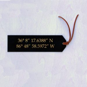Personalized Bookmark | Coordinates