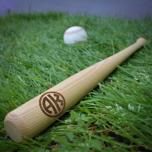 Personalized Mini Baseball Bat   AK