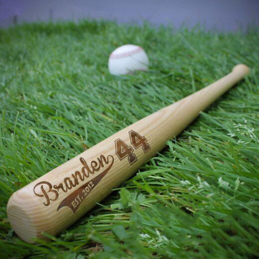 Personalized Mini Baseball Bat | Branden