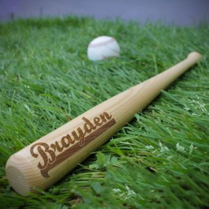 Personalized Mini Baseball Bat | Brayden