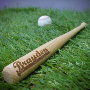 Personalized Mini Baseball Bat   Brayden