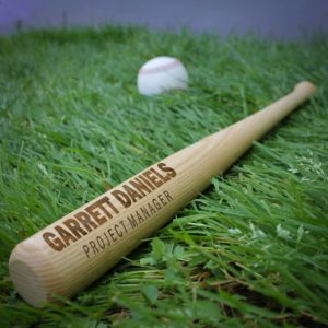 Personalized Mini Baseball Bat | Garrett