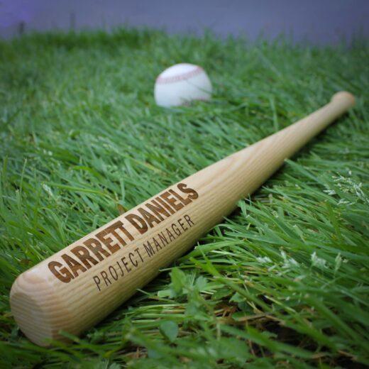 Personalized Mini Baseball Bat | Garrett