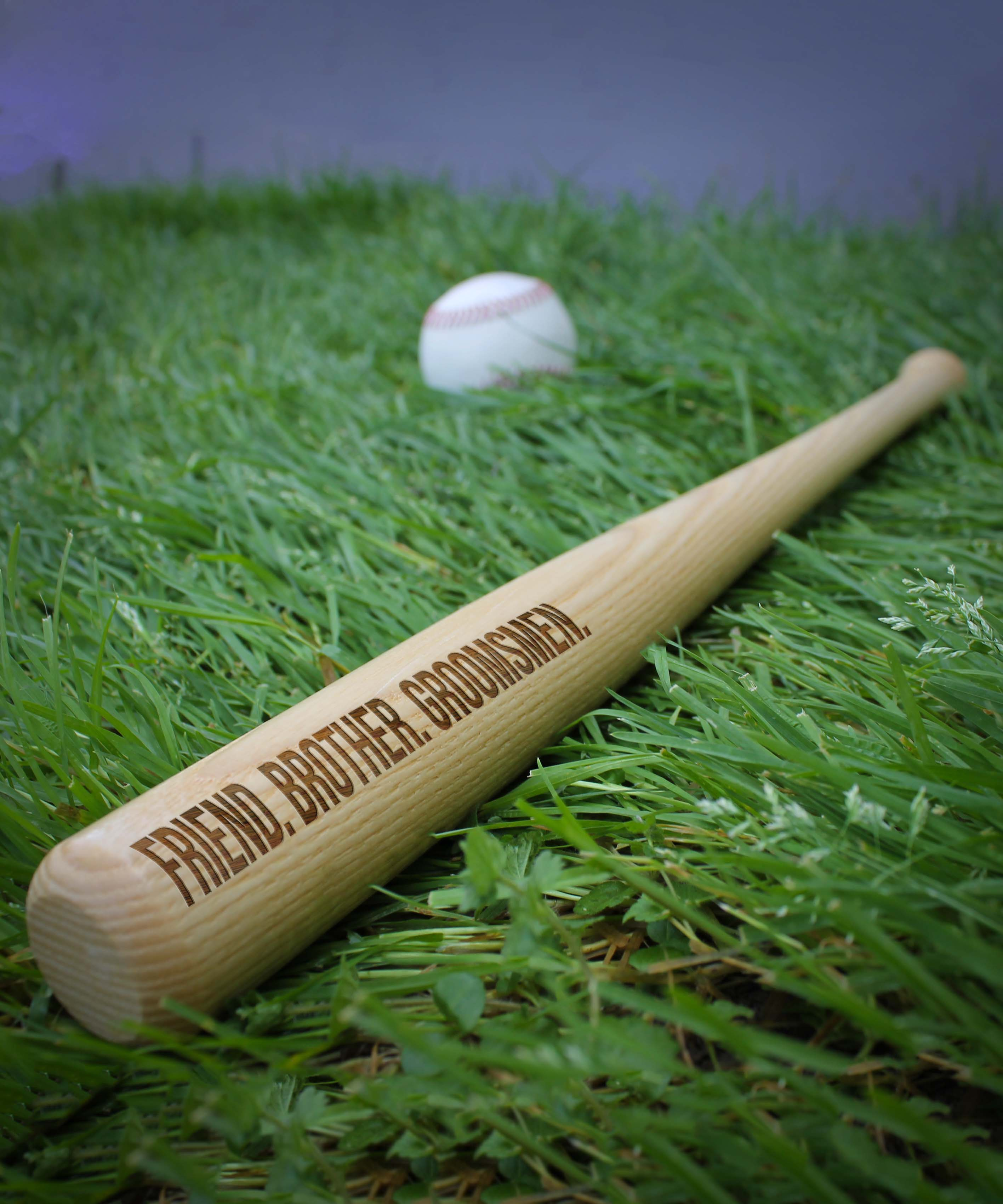 Personalized Mini Baseball Bat | Groomsmen