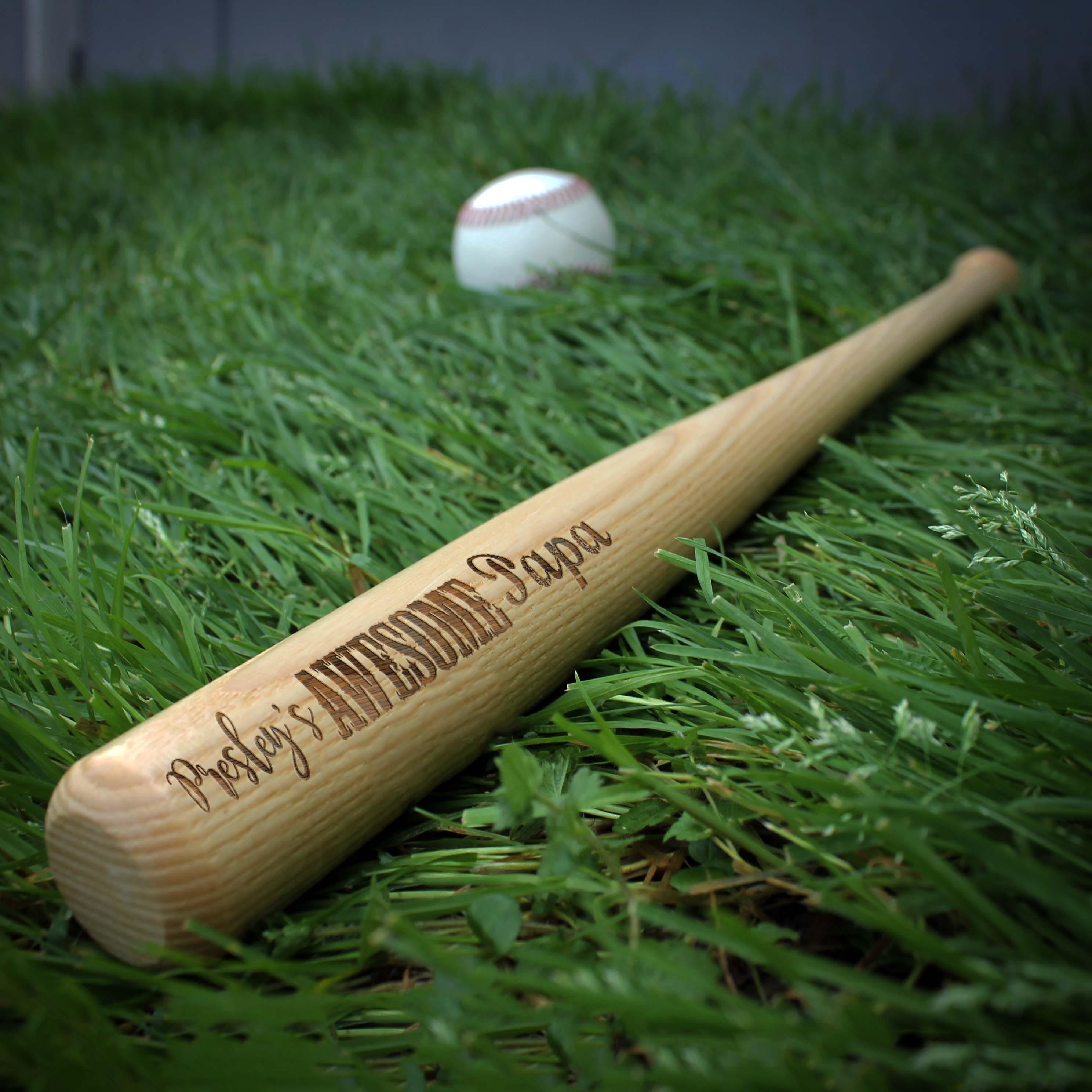Personalized Mini Baseball Bat | Presley