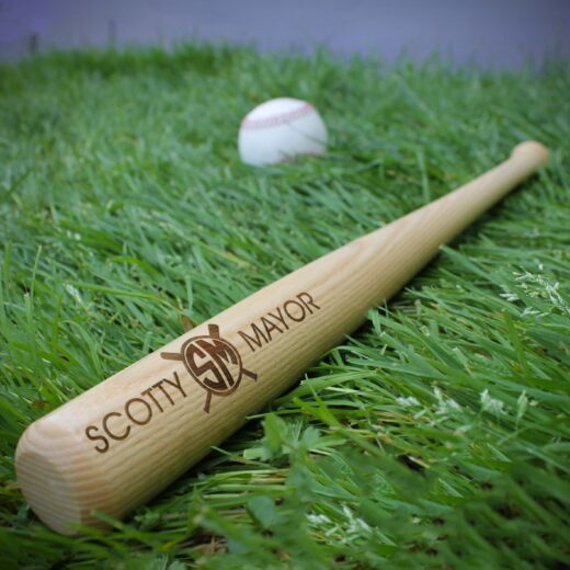Personalized Mini Baseball Bat | Scotty