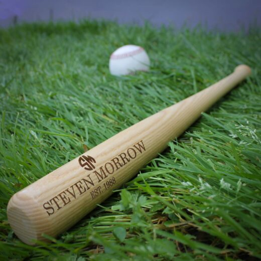 Personalized Mini Baseball Bat | Steven