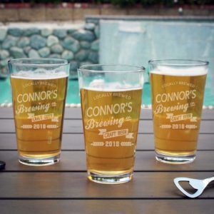 Personalized Pint Glass | Connor