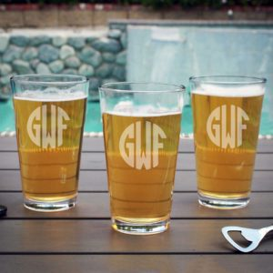 Personalized Pint Glass | GWF