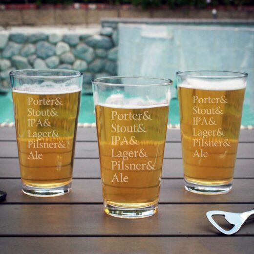 Personalized Pint Glass | Porter