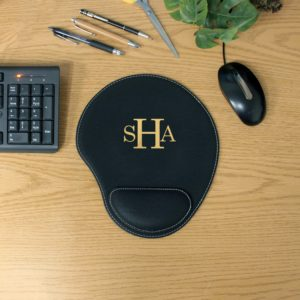 Personalized Leatherette Mouse Pad | SHA