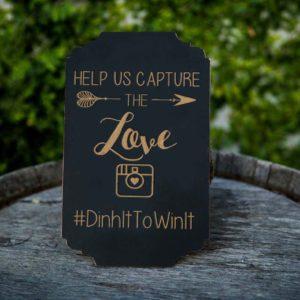 Help Us Capture | Instagram Hashtag Sign