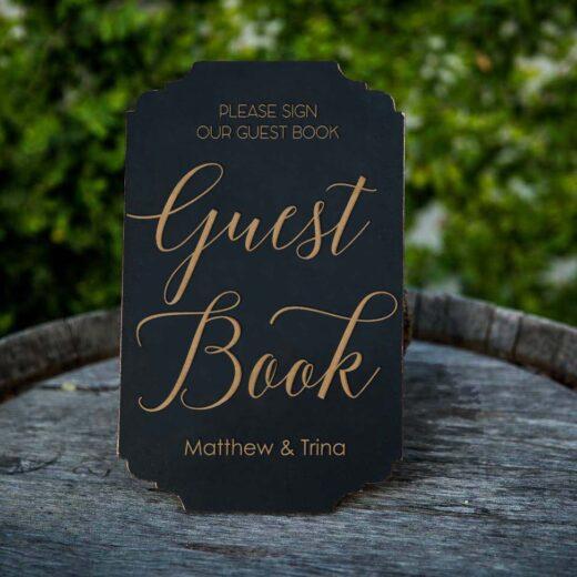 Guest Script | Guest Book Sign