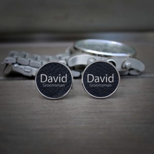 Personalized Cufflinks   David