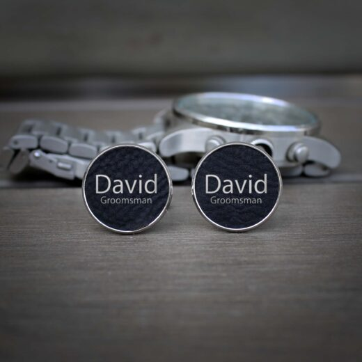 Personalized Cufflinks | David