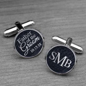 Personalized Cufflinks | Father Groom