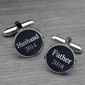 Personalized Cufflinks   Husband