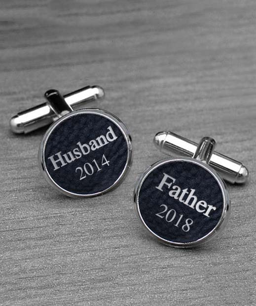 Personalized Cufflinks | Husband