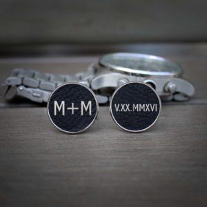 Personalized Cufflinks   M+M