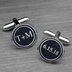 Personalized Cufflinks   T+M