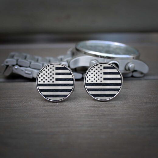 Personalized Cufflinks | USA Flag