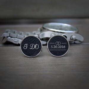 Personalized Cufflinks | I Do