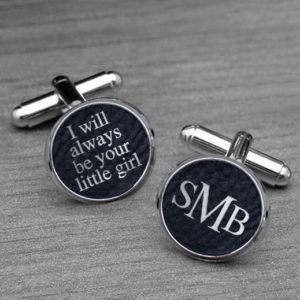 Personalized Cufflinks | Little Girl